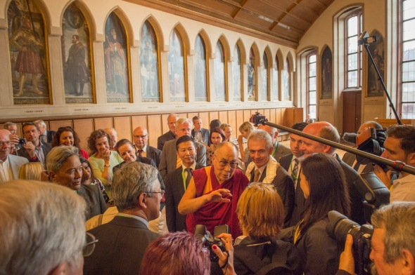 His Holiness the 14th Dalai Lama visiting Germany July 12-14, 2015, PhotoManuelBauer_2015_07_13